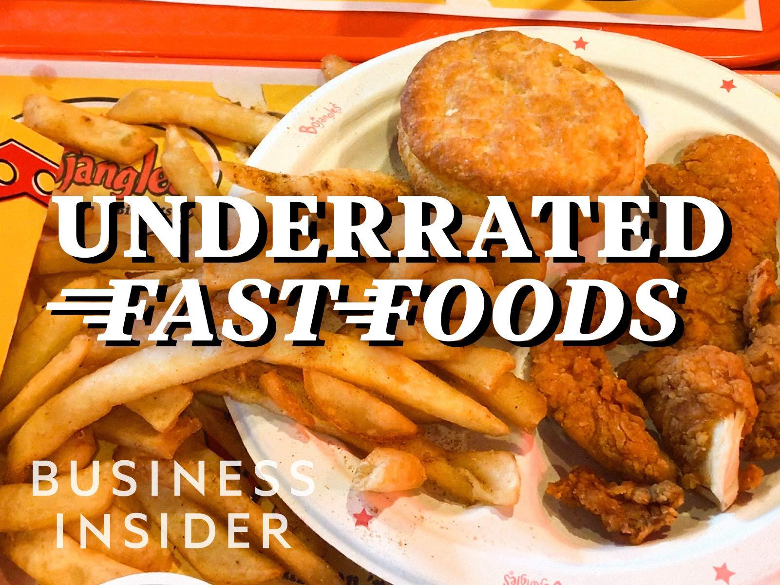 Underrated Fast Foods - Season 1