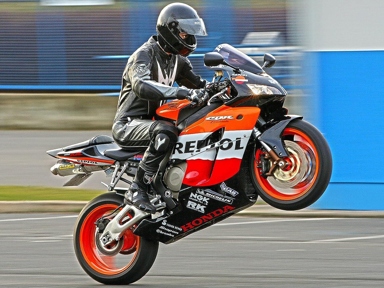 Motorcycle Poster Motorcycle Print Honda Motorcycle Biker Gifts 24x36