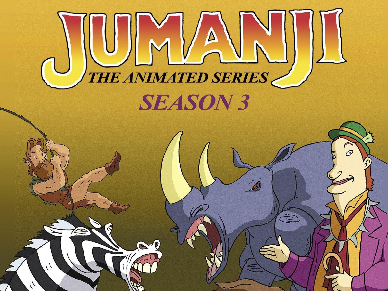 Jumanji - The Animated Series on Amazon Prime Video UK