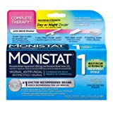 Monistat Combination Pack with 1-Ovule Insert with Applicator and External Cream