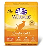 Wellness Dry Cat Food for Adult Cats, Indoor Health Recipe, 11-Pound and 8-Ounce Bag