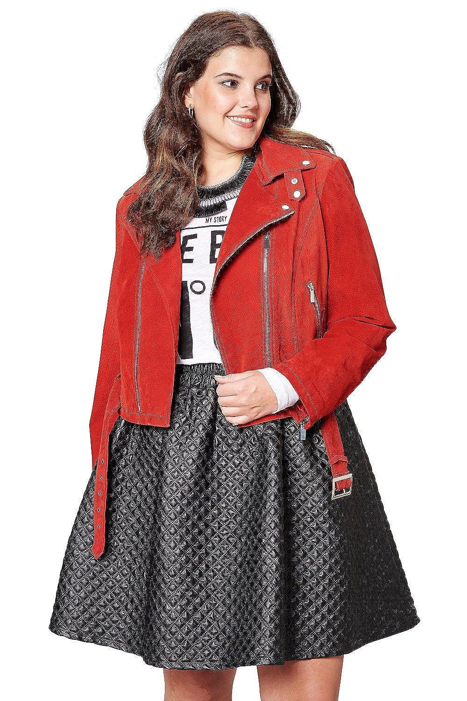 Studio Untold Damen Jacke, Wildleder 702633 große Größen jetzt kaufen