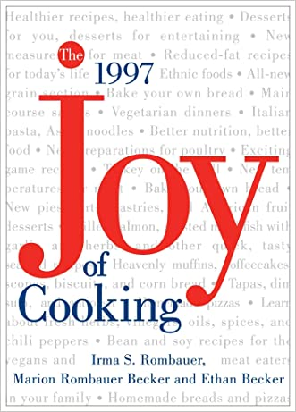 The All New All Purpose: Joy of Cooking written by Irma S. Rombauer