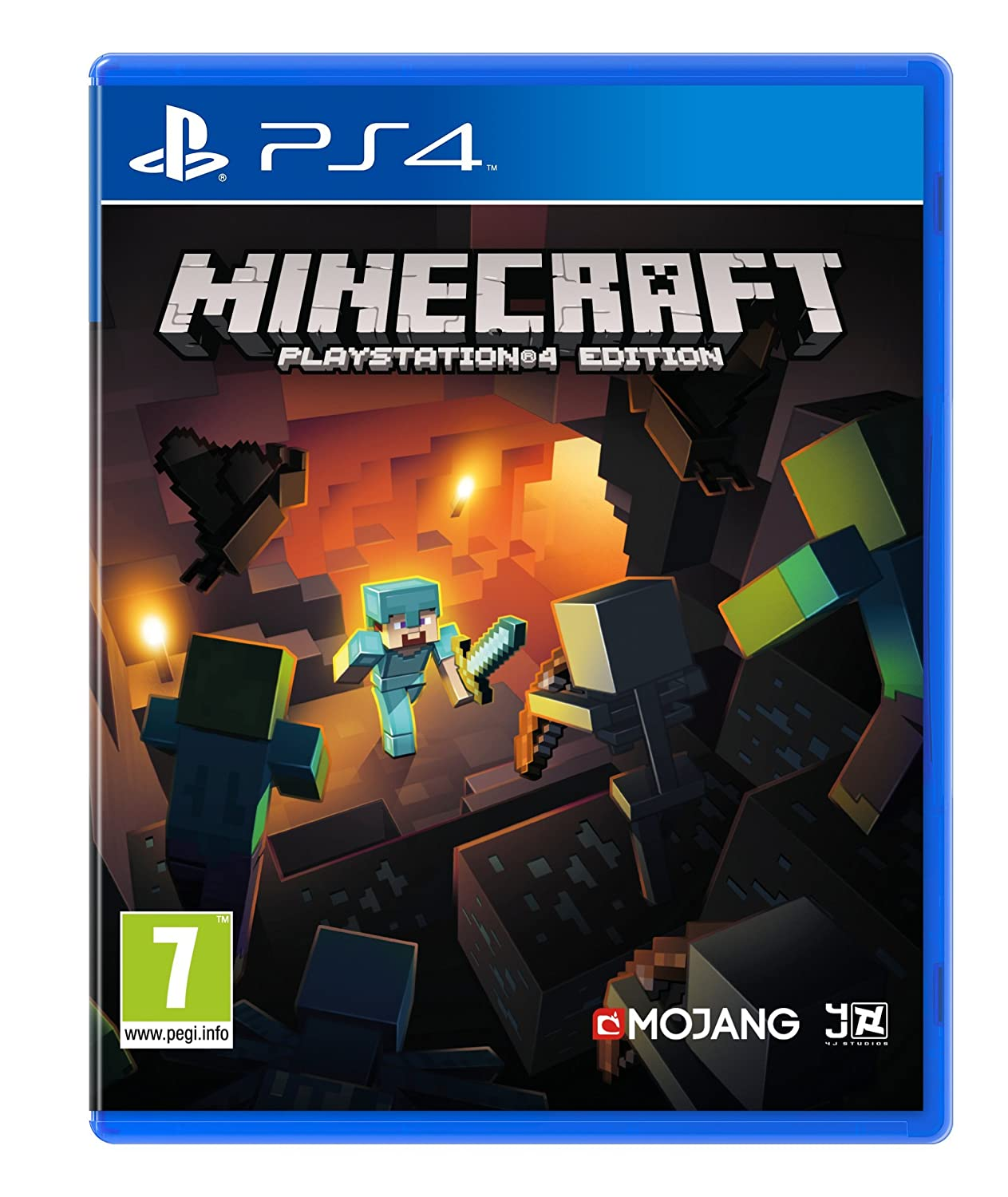 ps4 spiel minecraft playstation 4 edition neuware ebay. Black Bedroom Furniture Sets. Home Design Ideas