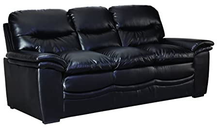Glory Furniture G183-S Living Room Sofa, Black