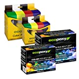 Ecopoxy Color Pigment Set Eight Color Assortment 60ml