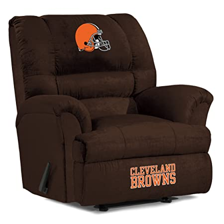 NFL Cleveland Browns Big Daddy Microfiber Recliner
