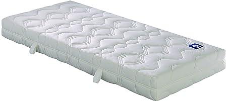 Badenia Irisette Bettcomfort Matratze Lotus, Tonnentaschenfederkern Polyester, 210 x 100 x 20 cm, weiß