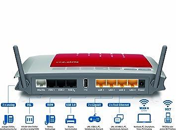 NETZTEIL LADEGERÄT 12V 1000mA für AVM FRITZBOX Fon WLAN 7320 Wireless N Router