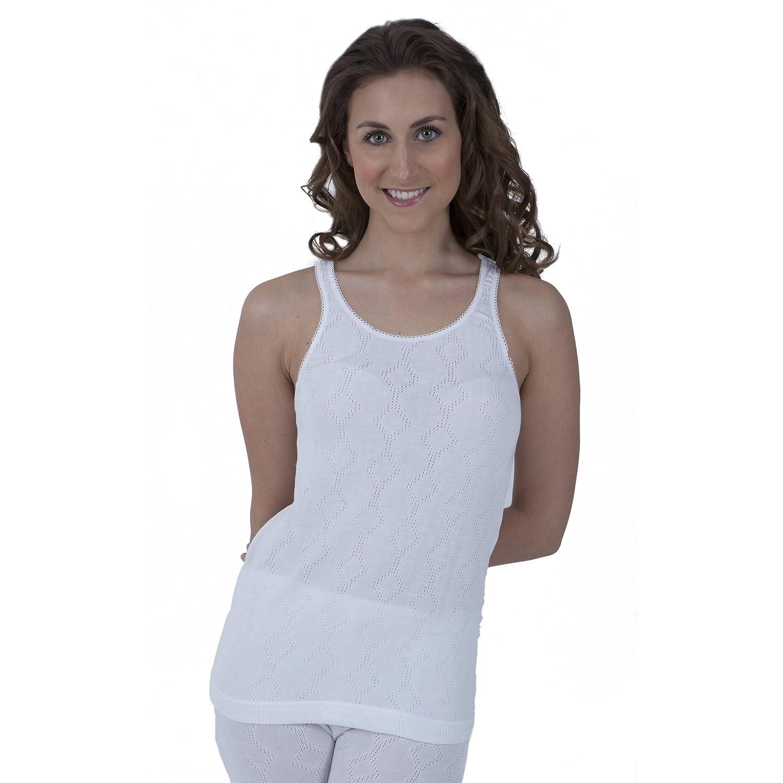 Damen Thermo-Unterwäsche, ärmelloses Unterhemd
