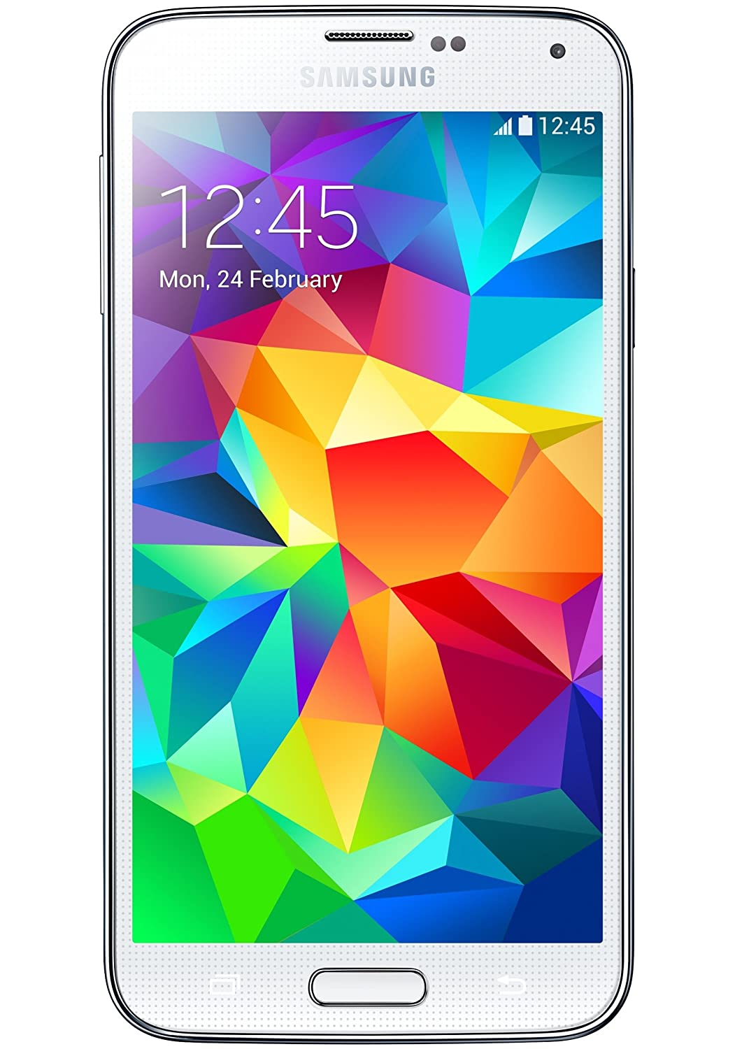 Samsung Galaxy S5 SM-G900H Exyon Quad Core 1.9GHz processor, 16GB,  Factory Unlocked International Version WHITE