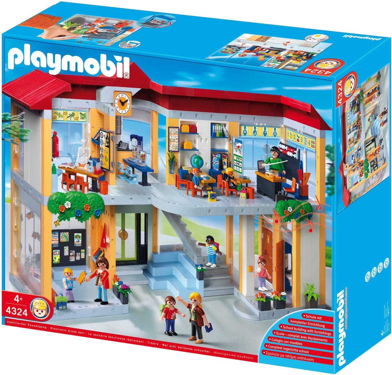 rezension playmobil 4324 große schule mit sehr guter zustand Badezimmer ideen