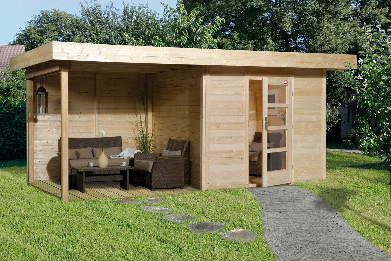 Weka Gartenhaus Lounge 3 Größe 2 natur bestellen