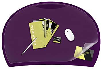 5 cep carat sous main sous main amethyste fournitures de bureau m283. Black Bedroom Furniture Sets. Home Design Ideas