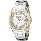 Kenneth Cole New York Men's KC9373 Classic Analog Display Japanese Quartz Silver Watch (Color: Silver)