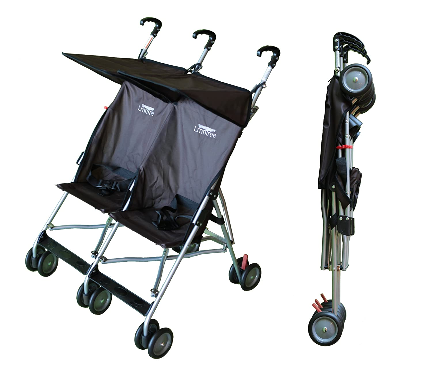 Lmntree Lightweight Double Umbrella Stroller