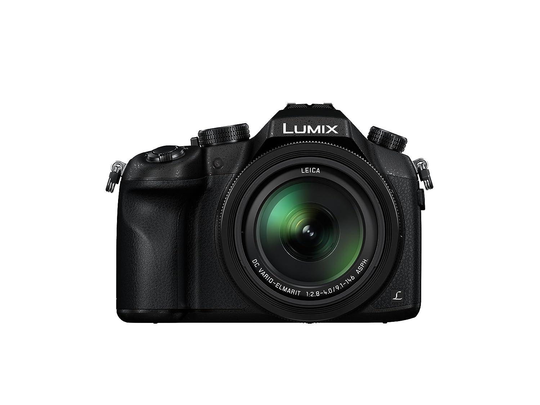Panasonic Lumix DMC-FZ1000 4K, Point and Shoot Camera with Leica Lens 16X Zoom (Black)