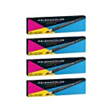Prismacolor Ebony Graphite Drawing Pencils, Black,12-Count, Pack of 4 (Tamaño: Pack of 4)