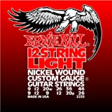 Ernie Ball 12-string Light Nickel Wound Set, .009 - .046 (Tamaño: Light)
