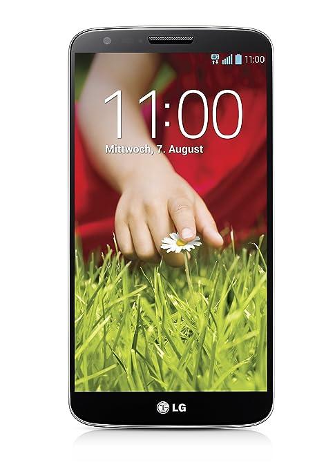 LG G2 LG-D802 Smartphone débloqué 4G (Ecran : 5.2 pouces - 16 Go - Android 4.2 Jelly Bean) Noir (import Europe)