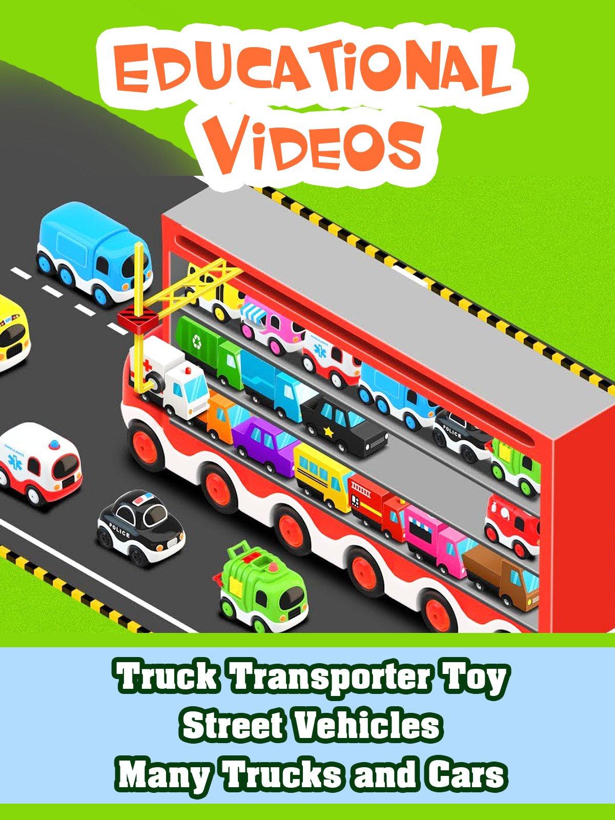 Truck Transporter Toy Street Vehicles