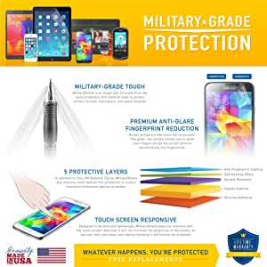 Samsung Galaxy Note 8 Screen Protector + Full Body, ArmorSuit MilitaryShield Full Skin + Screen Protector For Note 8 - HD Clear Anti-Bubble (Color: Clear)