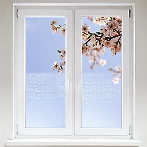 Artefact® Dekofolie / Fensterfolie Code | statisch haftend (ohne Kleber) | verschiedene Größen  BaumarktKundenbewertungen