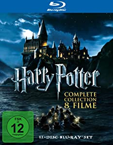 Post image for Harry Potter Komplettbox für 22€ [Blu-ray] *UPDATE*