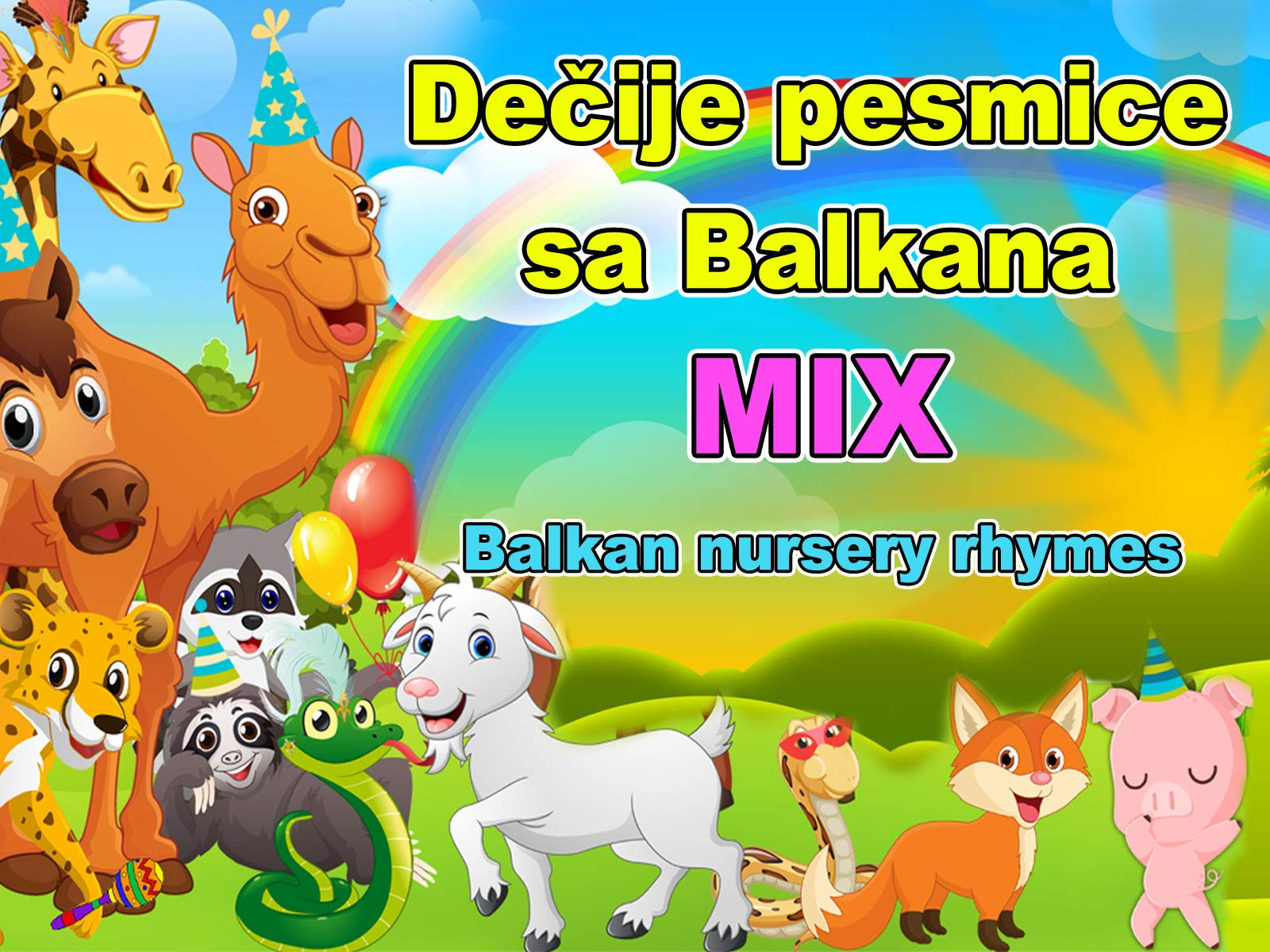 Clip: Dečije Pesmice Sa Balkana Mix - Balkan Nursery Rhymes on Amazon Prime Instant Video UK