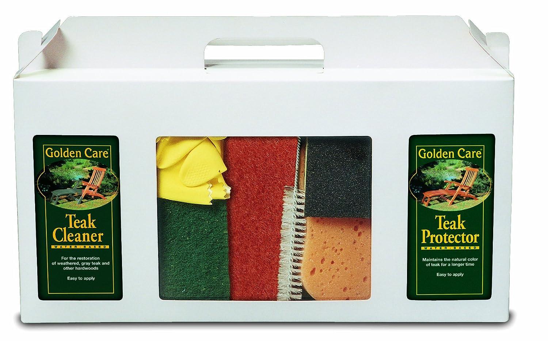 GOLDEN CARE 3-in-1 Care Kit Holzpflegeset Holz Reiniger Holzschutz Holzpflege für Gartenmöbel jetzt bestellen