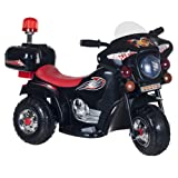 Lil' Rider Ride on Toy, 3 Wheel Motorcycle for Kids, Battery Powered Ride On Toy by Ride on Toys for Boys and Girls, Toddler - 4 Year Old, Black (Color: Black, Tamaño: 31.5