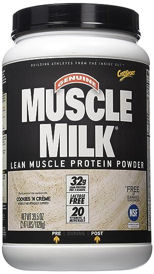 CytoSport Muscle Milk Cookies Flavour / Cookies, 1er Pack (1 x 1.12 kg)