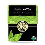 Organic Nettle Leaf Tea - Kosher, Caffeine-Free, GMO-Free - 18 Bleach-Free Tea Bags (Tamaño: 18 Bags)