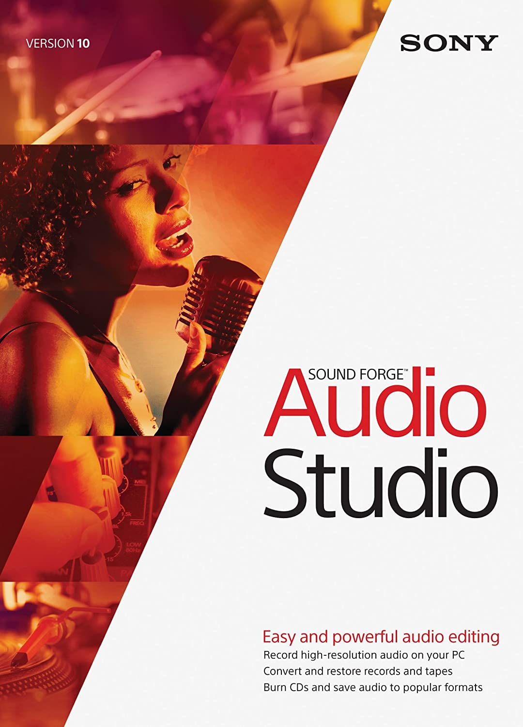 Sony Sound Forge Audio Studio 10- 30 Day Free Trial (Download)