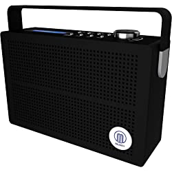 Newnham DAB Digital FM Portable Radio with Rechargeable Battery - Black