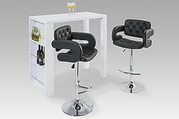 hochtisch wei 3 praktische stauf cher db732. Black Bedroom Furniture Sets. Home Design Ideas