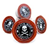 Death Cups by Death Wish Coffee, The World's Strongest Single Serve Coffee Capsule (10 Capsules) (Color: Dark Roast, Tamaño: 10 Count)