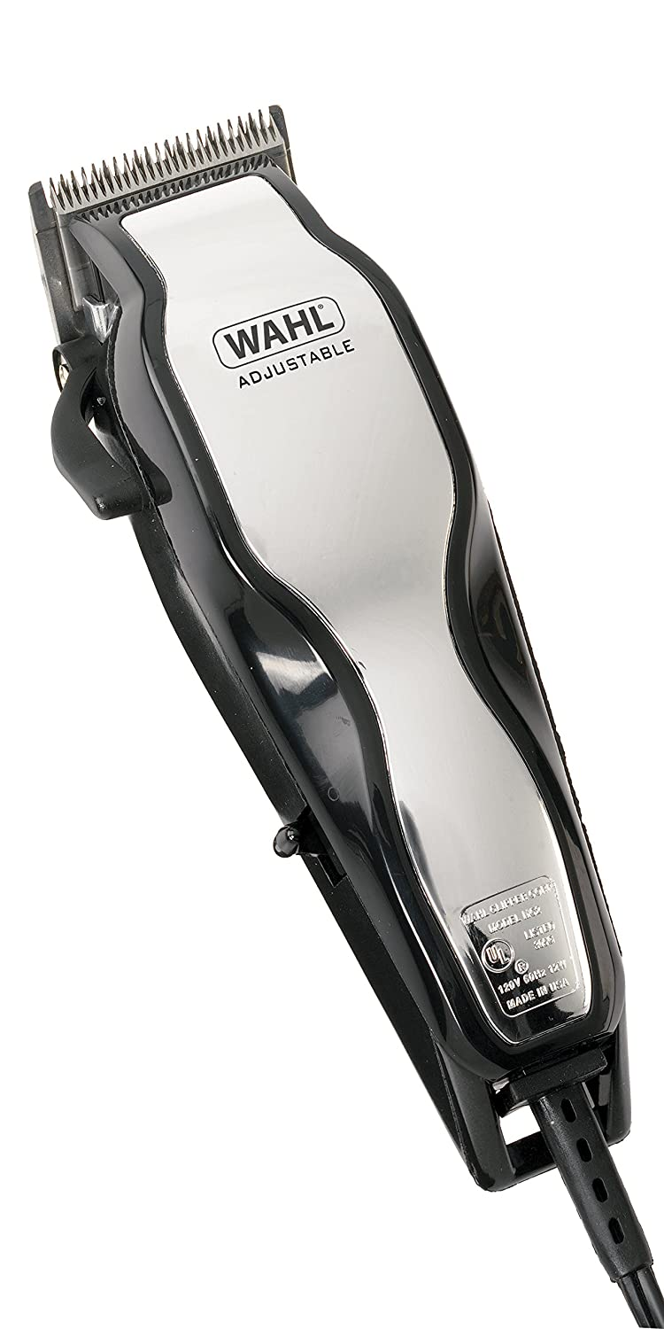 Wahl Chrome Pro Mains Hair Clipper Set