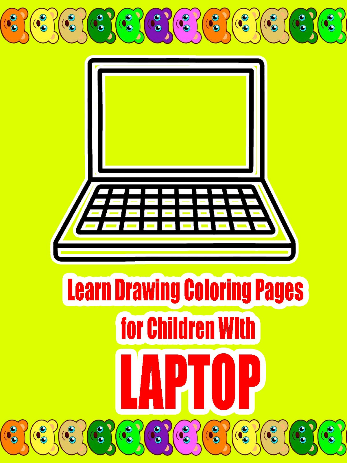 Learn Drawing Coloring Pages for Children WIth Laptop on Amazon Prime Video UK