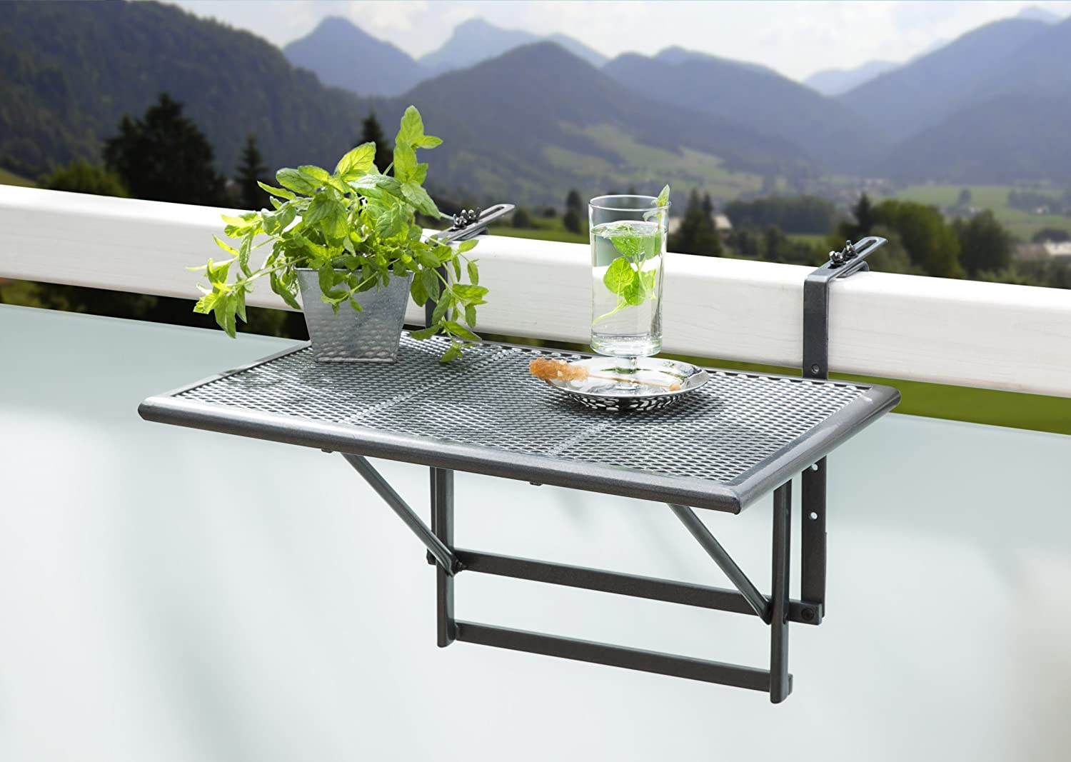 Table pour balcon for Tavolino da balcone