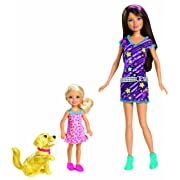 Barbie Sisters Train Taffy Skipper and Chelsea Doll 2-Pack
