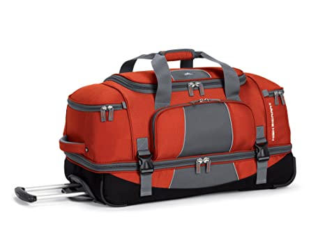 "High Sierra Elevate 28"" Drop-Bottom Wheeled Duffel"