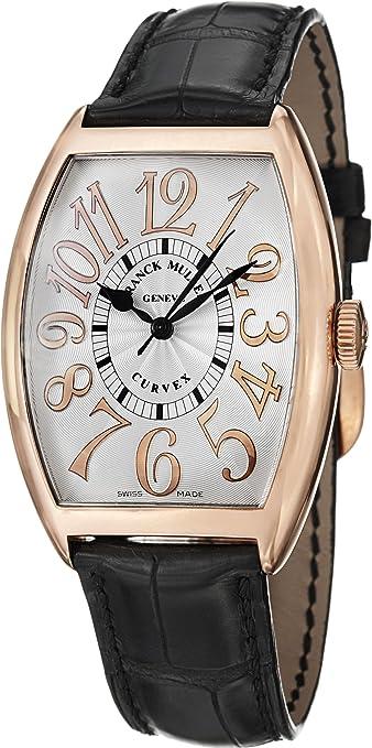 Franck Muller Cintrée Curvex Classic Rose Gold Automatic Watch 6850 SC REL 5N