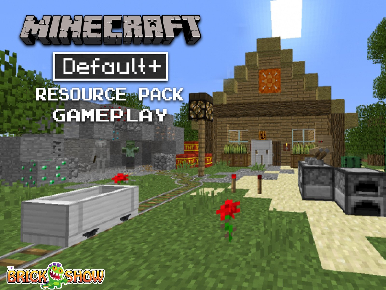 Clip: Michael Play's Minecraft Default+ Resource Pack - Season 1