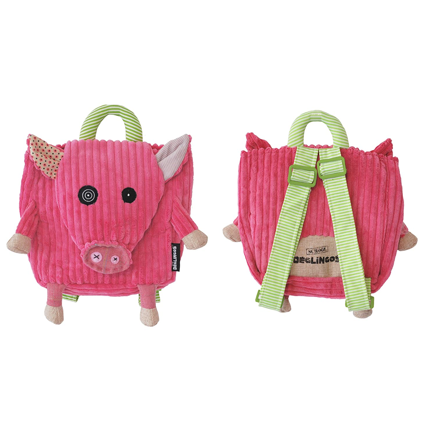 The Deglingos Jambonos the Pig Backpack