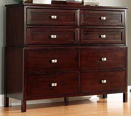 Karolino Dark Brown Dresser