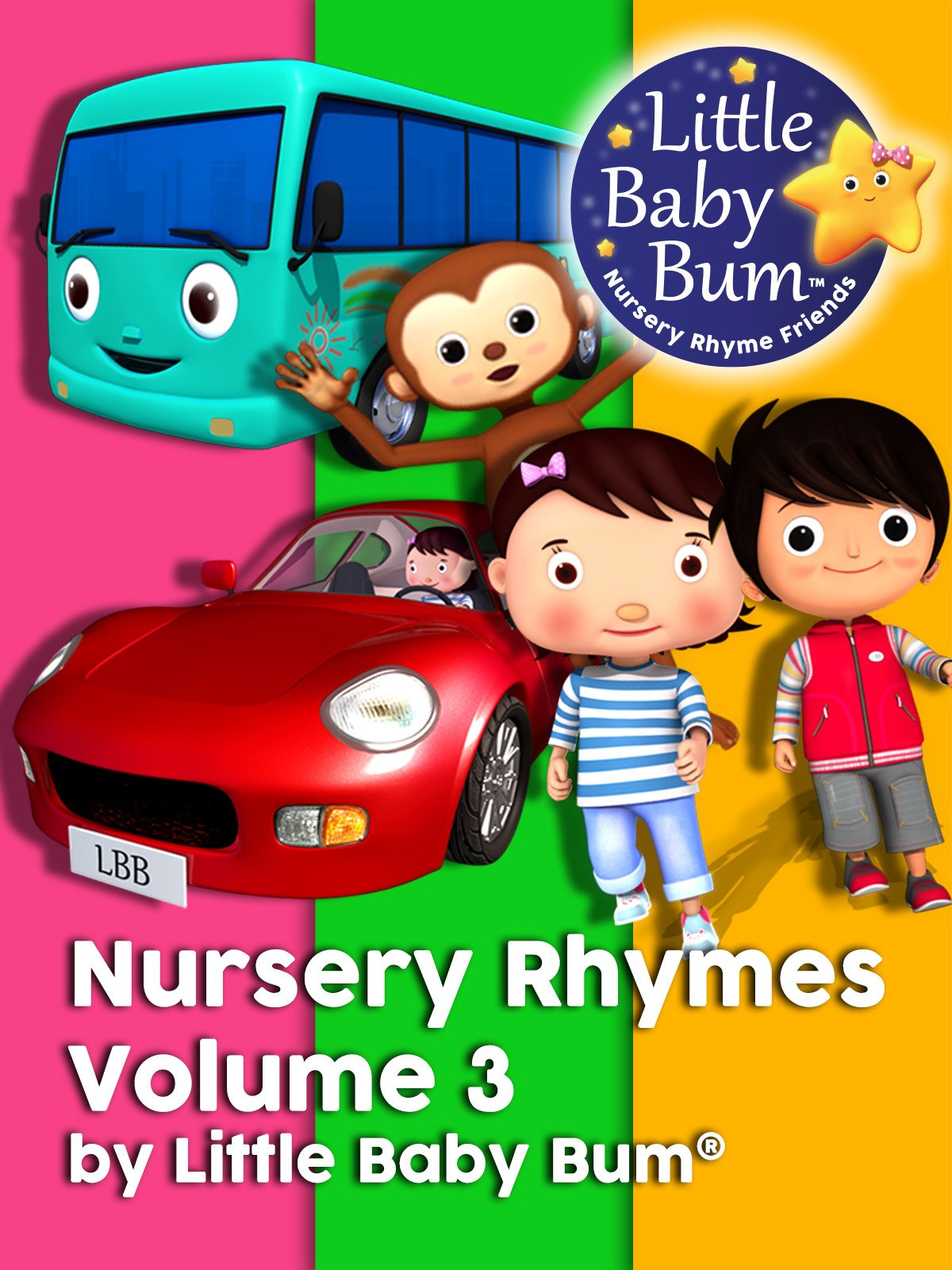 Nursery Rhymes Volume 3 by Little Baby Bum