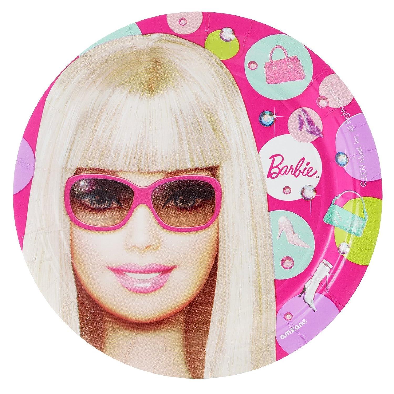 Amscan 160118 Barbie Puppe d All Up Dessert Plates-8 z-hlen online kaufen