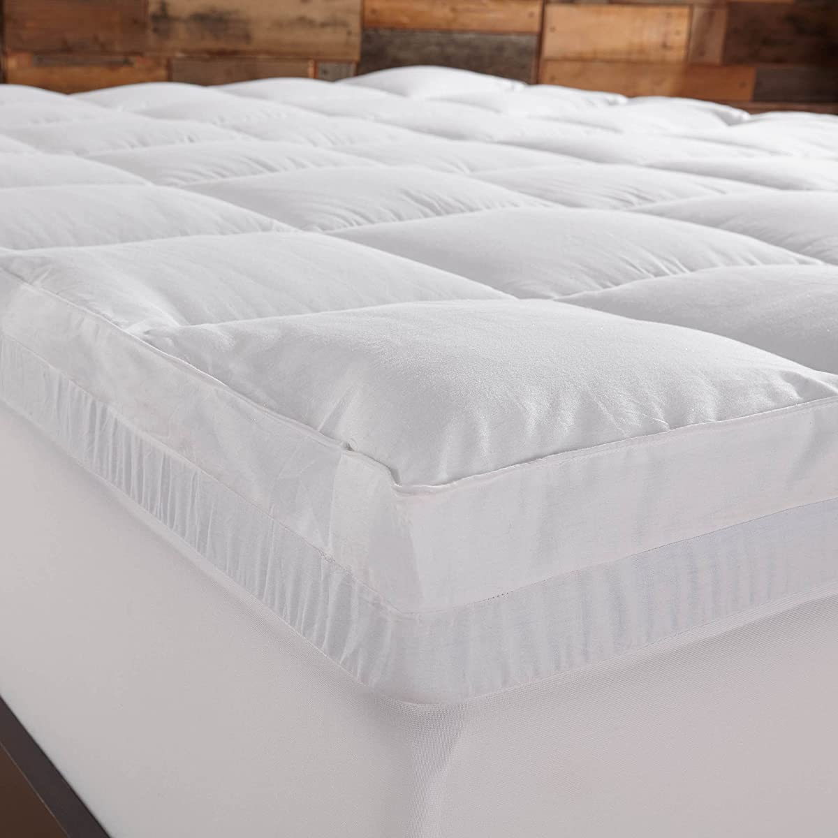 Sleep Innovations 4 Inch Dual Layer Mattress Topper Gel