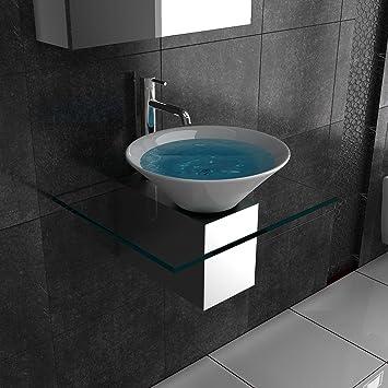 badm bel aus glas waschtische f r ihr exklusives. Black Bedroom Furniture Sets. Home Design Ideas